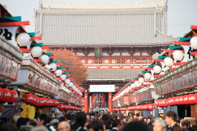 Sensoji Temple, Nakamise