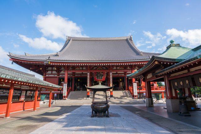 Sensoji Temple, Hondo