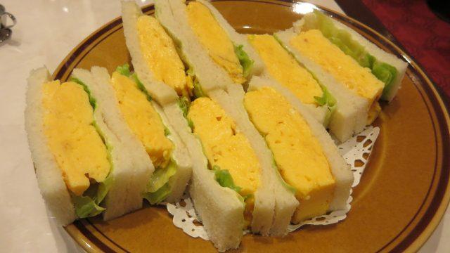 鸡蛋三明治800日元
