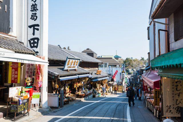 Naritasan Omotesando Shopping Street