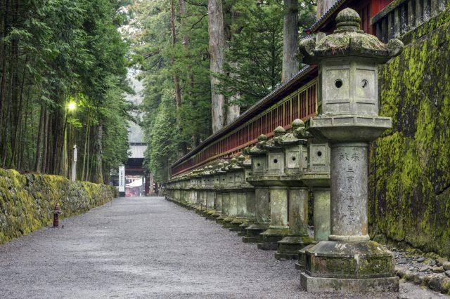 Road approaching shrine