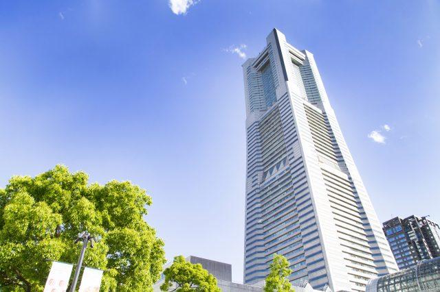 橫濱地標塔是港未來的地標