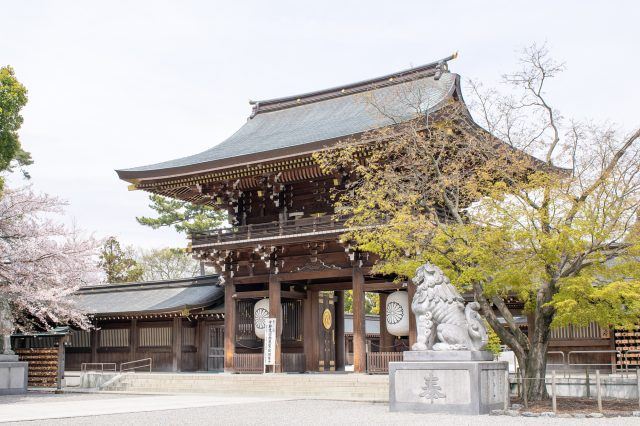The Shinmon Shrine Gate