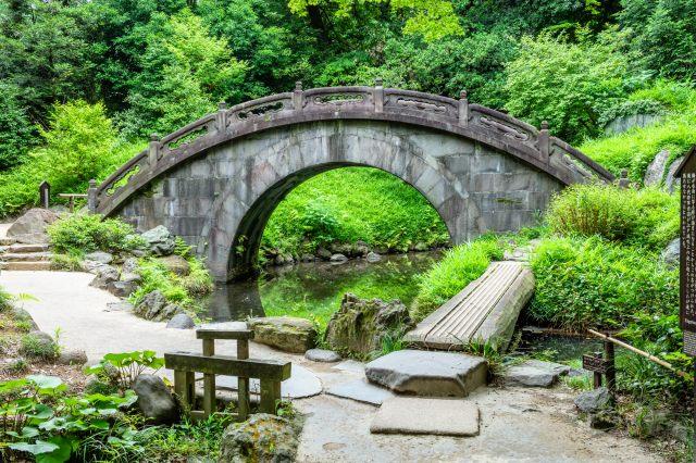 Engetsu-Kyo, the Full Moon Bridge