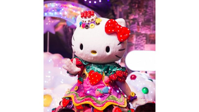 與Hello Kitty相遇