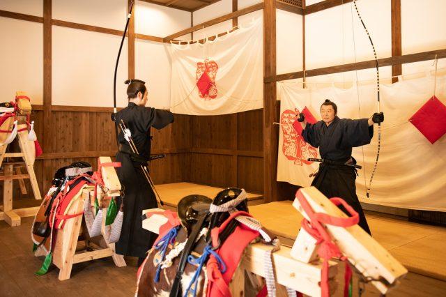 Yabusame archery experience (free)