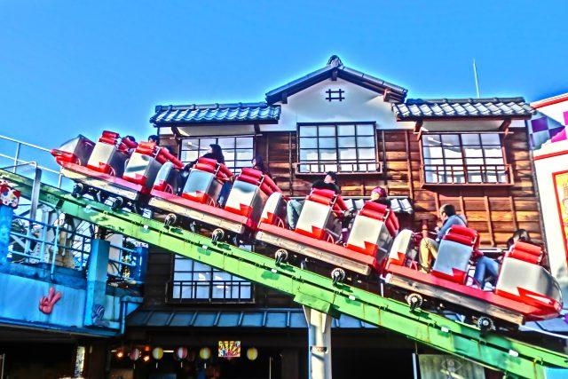 Japan's oldest roller coaster