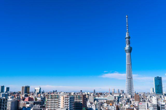 東京的新地標 晴空塔