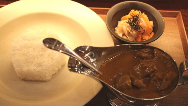 Beef Curry with Wagyu 1,800yen