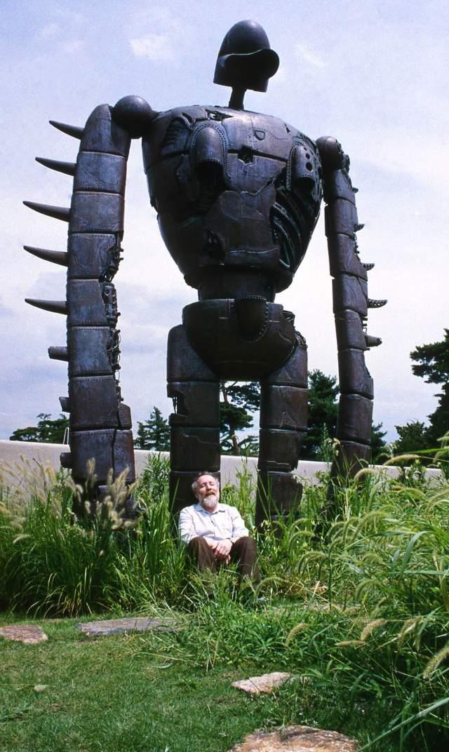 《天空之城》裡的機器人士兵 © Museo d'Arte Ghibli