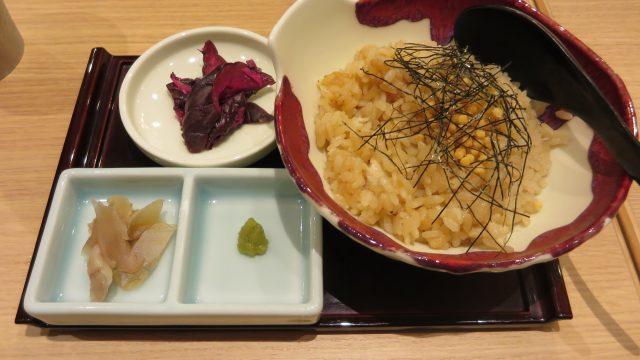 茶泡飯套餐500日圓