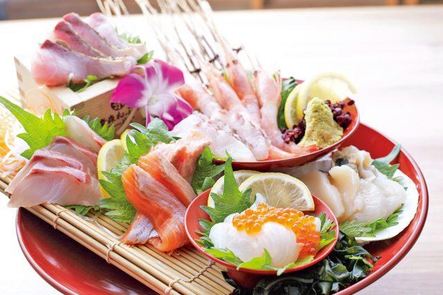 Plenty of fresh and high-quality seafood
