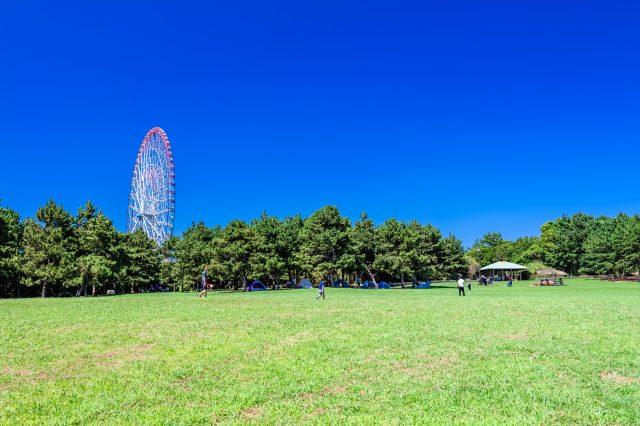 Salt-breeze plaza and giant Ferris wheel