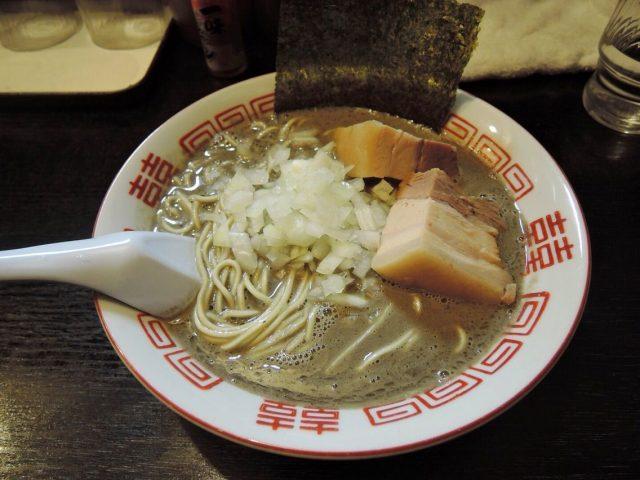 濃厚中華soba(800日圓)