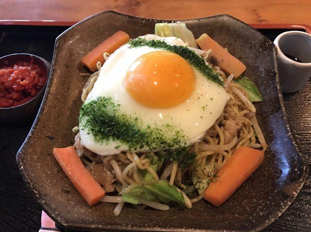 講究廚藝的炒麵 580日圓