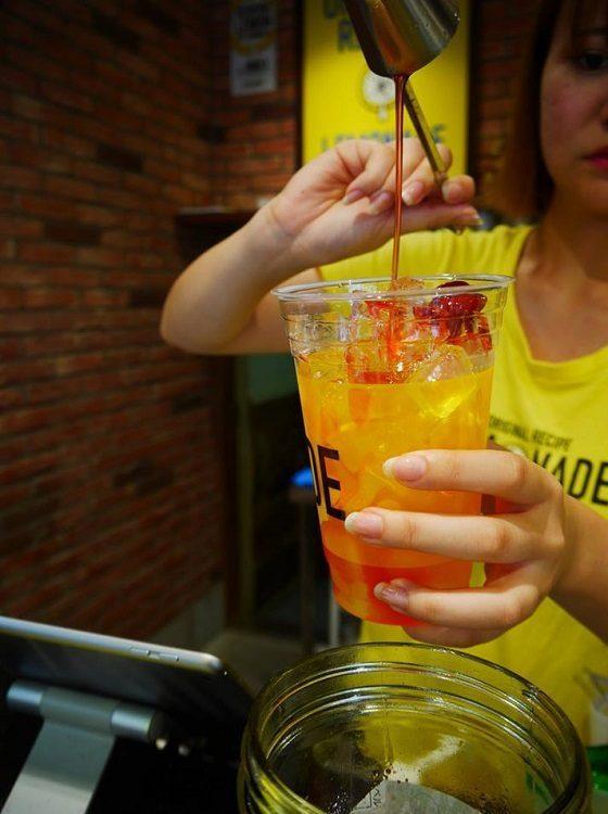 Each lemonade is made fresh when you order it