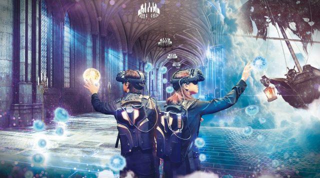 宛如被施了魔法般的VR主題樂園