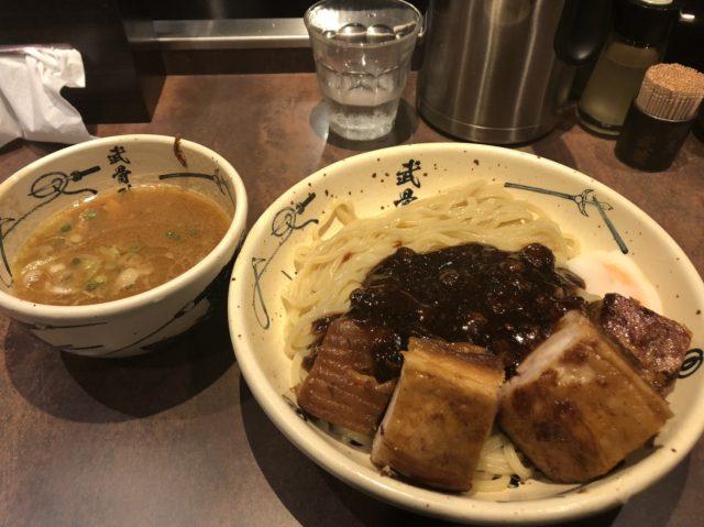 濃厚外傳加肉 紅沾麵 1500日圓
