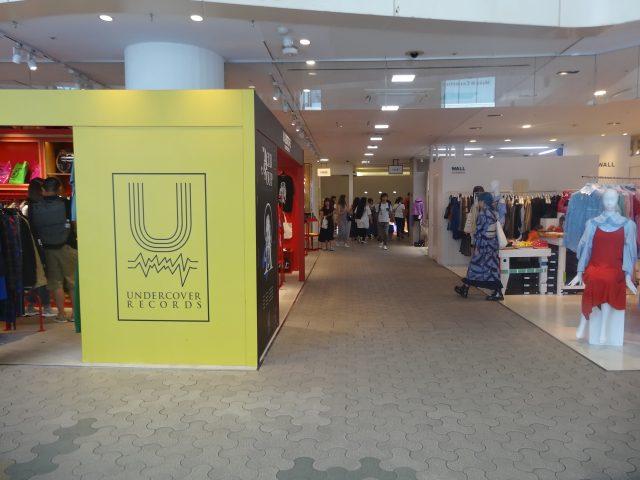 First floor Shopping floor