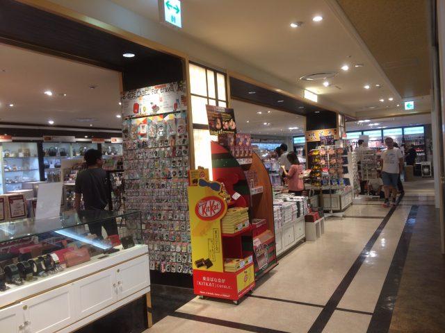 5th floor, Laox souvenir sales area