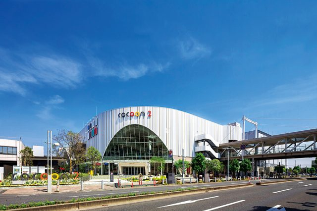 COCOON CITY is connected directly to Saitama-Shintoshin Station!