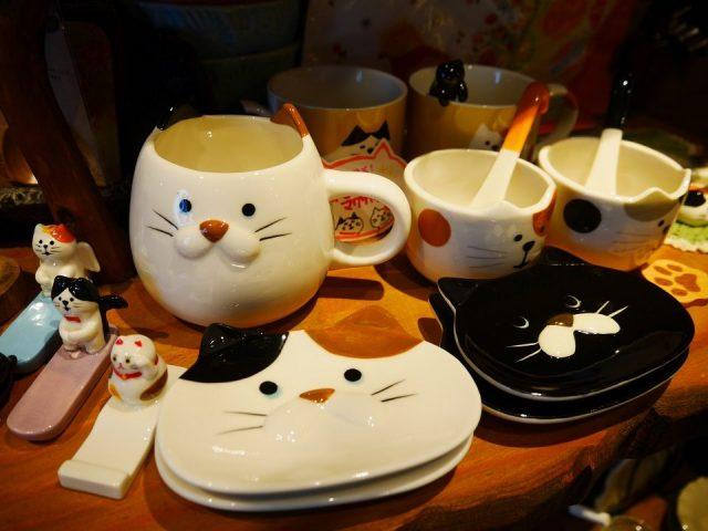 貓咪形狀的餐具類