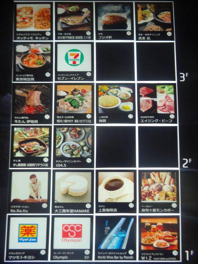 餐廳 導覽佈告板