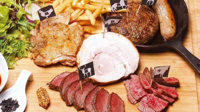 有名的特色菜!六種肉食料理拼盤