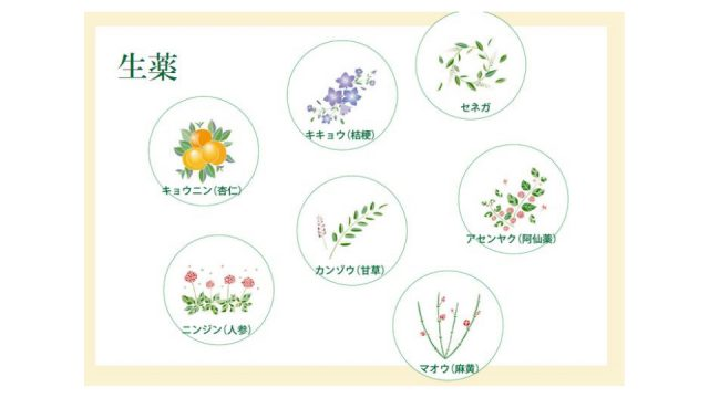 中草药特有的温和药效也是龙角散的一大特征