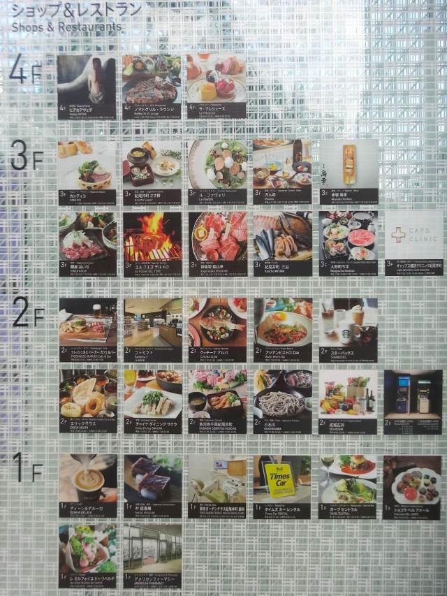 餐廳區看板