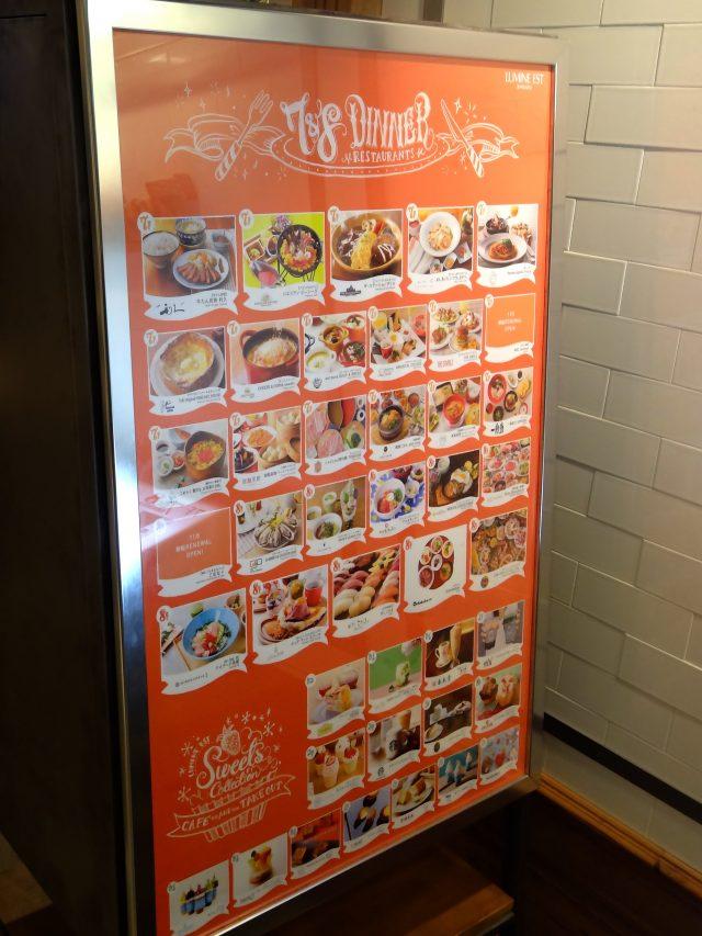 7樓-8樓 餐廳區7&8 DINNER 導覽板