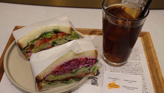 鮮蔬三明治