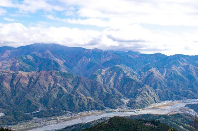 從山頂望到的景色