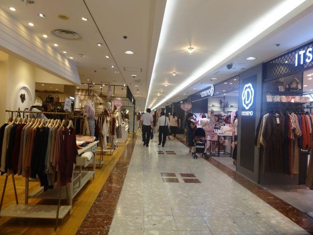 Ginza Inz 2號館,1樓購物區
