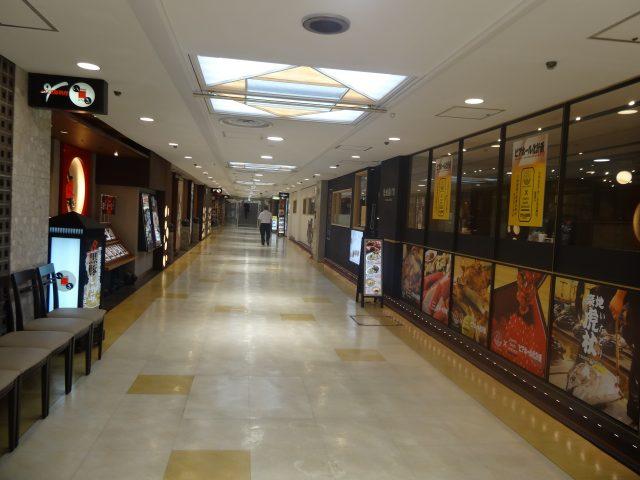 Ginza Inz 1號館,地下1層餐廳區
