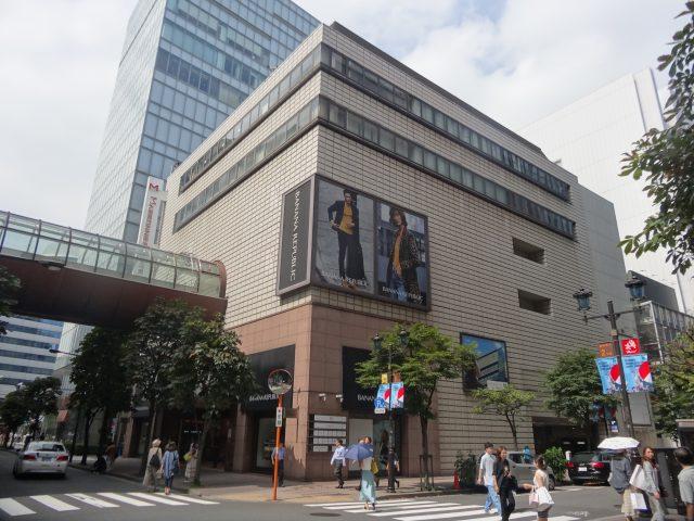Marronnier Gate Ginza 3, Exterior