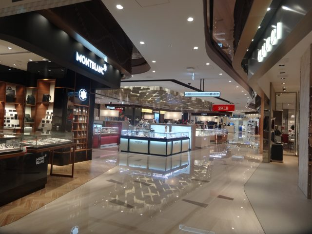 8th floor Lotte Duty Free store