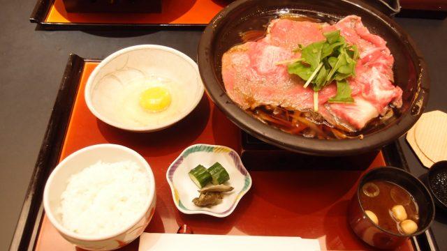 Special Selection – Kuroge Wagyu Sirloin Sukiyaki