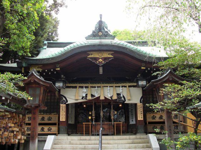 Koyasu Jinja Shrine