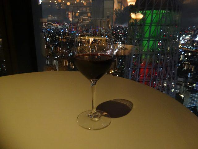 杯裝葡萄酒(紅)900日圓