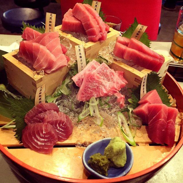 鮪魚饗宴6種部位拼盤(照片為4人份)