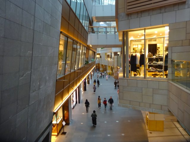 The West Walk Shopping Zone Atrium