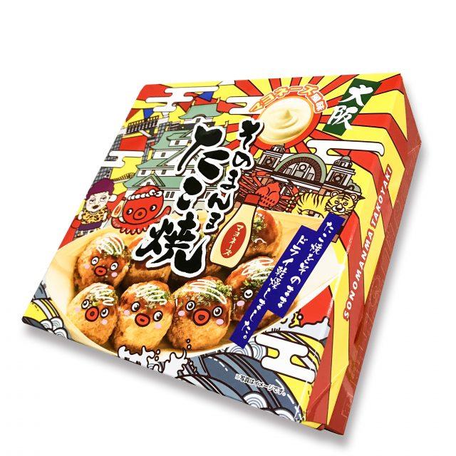 「大阪sonomanma章鱼烧」 包装盒