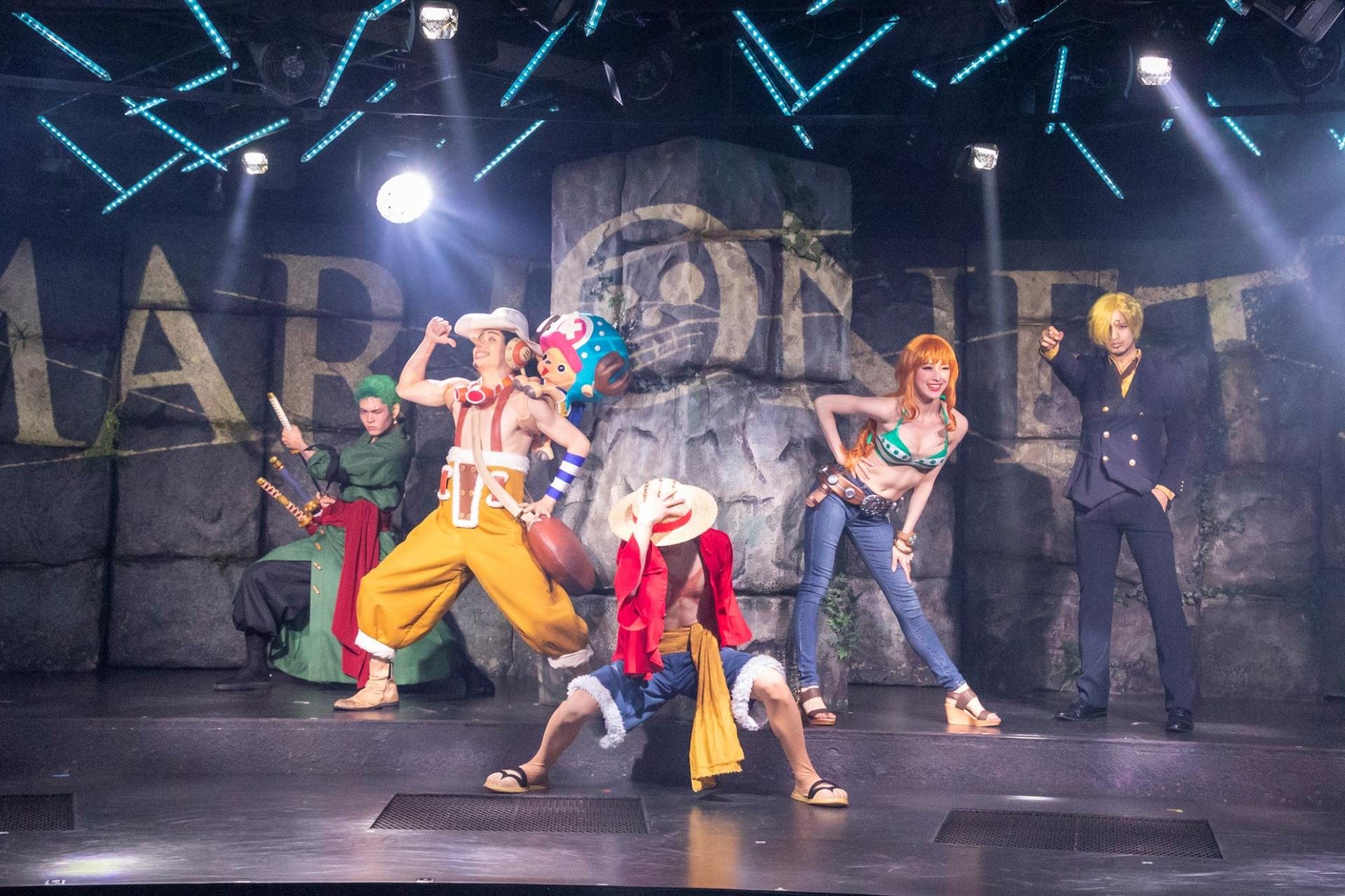"""5th floor ONE PIECE LIVE ATTRACTION """"MARIONETTE"""""""