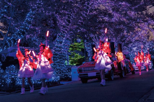 Lights On Parade during the Illumination Period