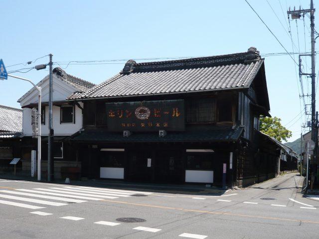 被指定為桐生市重要文化遺產的「矢野園 喫茶有鄰」的外觀