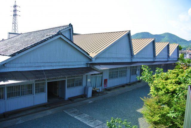 依然保留著工廠舊時模樣的建築物具有極高的歷史價值