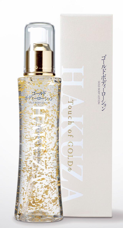 含有金箔的護膚保養品是長期熱銷商品!