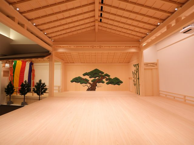 The trial program on the Japanese Cypress stage is a valuable experience.