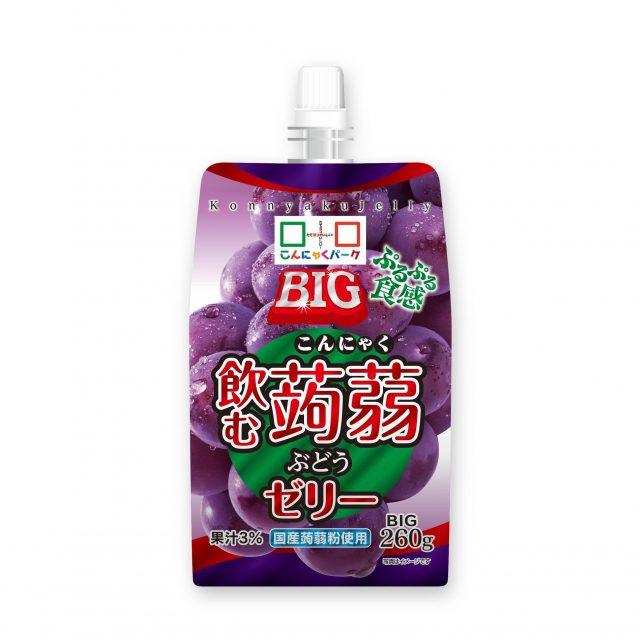 喝的BIG 喝的蒟蒻果凍 葡萄